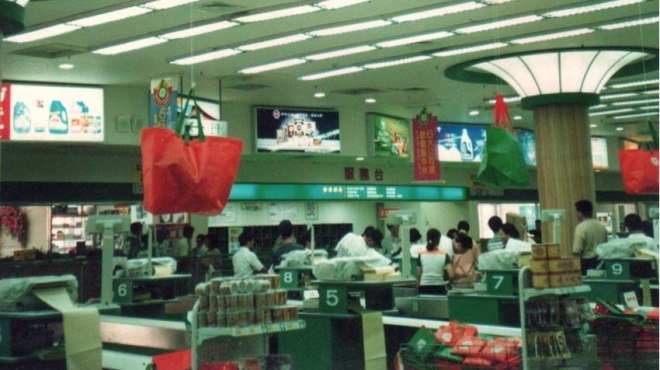 85年_台中大買家量販店媒體燈箱