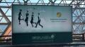 桃園機場廣告燈箱